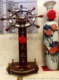 西安樹脂開業擺件 慶典領航舵 仿銅色大鼎開業擺件