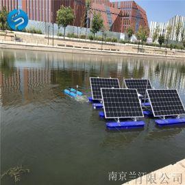 河道增氧1420m3/h 太阳能河道喷泉曝气机