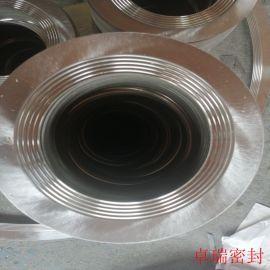 不锈钢304齿形垫片 金属齿形状垫片 固定外环金属齿形垫片厂家直供 卓瑞