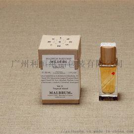 黄牛皮纸包装盒,香水包装盒
