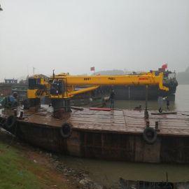 宜宾8吨船吊参数 船用起重机