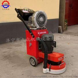 固化地面环氧地坪研磨机 吸尘式混凝土打磨机