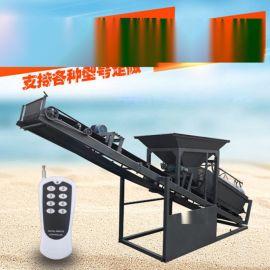 广东中山筛土机,筛沙机械,震动筛沙机