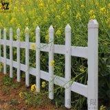 草坪绿地护栏围栏,校园花坛塑钢护栏,防护绿地围栏厂