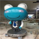 定製各種企業形象卡通雕塑 佛山卡通玻璃鋼雕塑