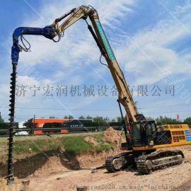 新型履带式螺旋钻机 光伏电站旋挖钻机厂家