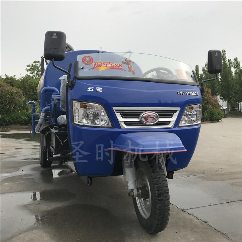 河南环保除尘小型农用洒水车厂家 柴油三轮喷洒车