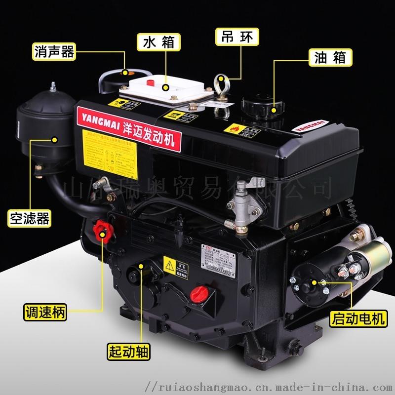 洋迈船用**单缸柴油机洋玛机型原厂配件