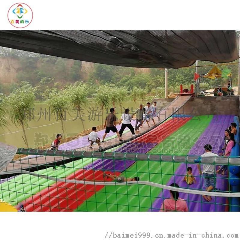 抖音同款網紅搖擺吊橋在鄭州百美每年銷量都很好