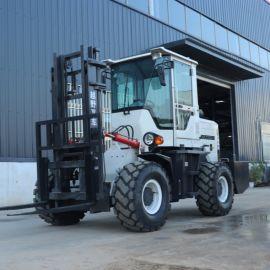 柴油叉车 3吨全新堆高搬运车 燃油越野叉车