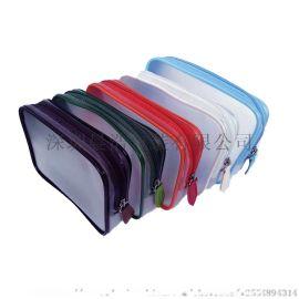 深圳 化妆袋 化妆包透明pvc拉链化妆袋