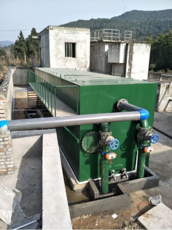 全自动一体化净水处理设备/净水装置工艺流程
