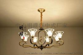 吊灯具客厅套餐新中式简约现代灯具