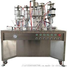 临沂供应小型半自动发泡胶生产灌装设备
