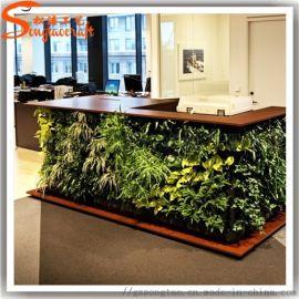 厂家定制仿真草墙室内装饰仿真植物人造草墙家居装饰