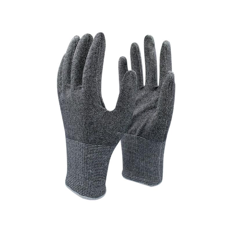 5級防切割黑色鋼絲手套