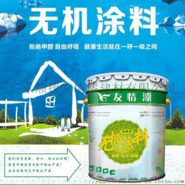 友情漆内墙面白色乳胶漆环保墙体无机涂料除甲醛防水