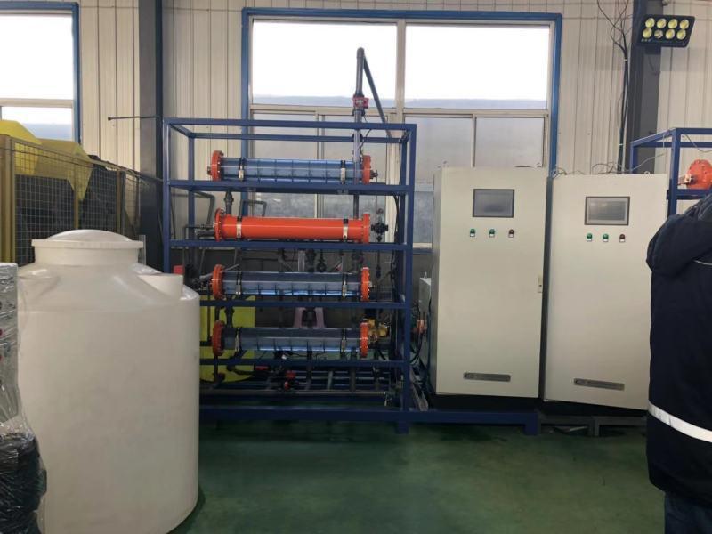 農村飲水消毒設備皮實/電解食鹽次氯酸鈉發生器