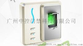 办公室门禁ZK-f101 指纹门锁 广州中控