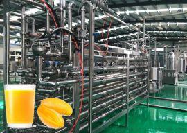 番茄汁苹果汁梨汁橙汁枸杞汁管式杀菌机