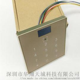二维码门禁一体机ID/IC卡刷卡触摸密码门禁机