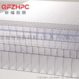 泉福农业温室  采光板 pc阳光板透明阳光板