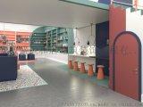 合肥文創店裝修,當書中的繽紛色彩進入空間