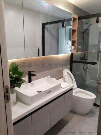 广州整体浴室柜定制,洗手盆柜,洗脸盆柜