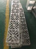 椭圆镂空花式雕刻铝单板 指示牌雕刻铝单板定制