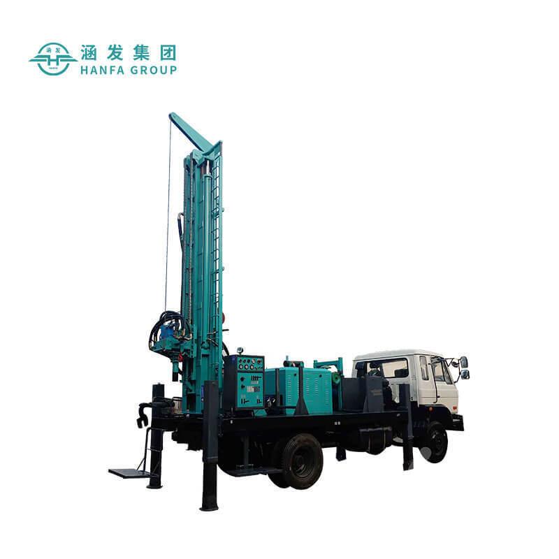 HFJ350KT車載勘探鑽機 車載式水井鑽機