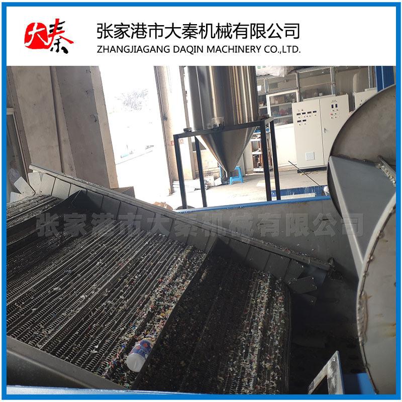 HDPE硬塑料破碎清洗流水线 硬塑料清洗设备