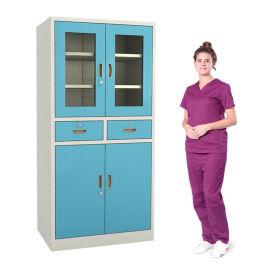 SKH051A 彩喷器械柜 药品柜 储物柜资料柜