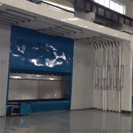 非标定制伸缩移动喷漆房