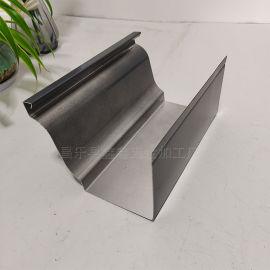 屋檐用排水雨水槽 铝合金天沟生产厂家