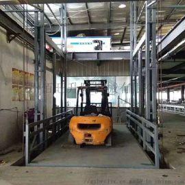 佰旺牌无机房货梯液压无机房货梯无基坑无机房货梯