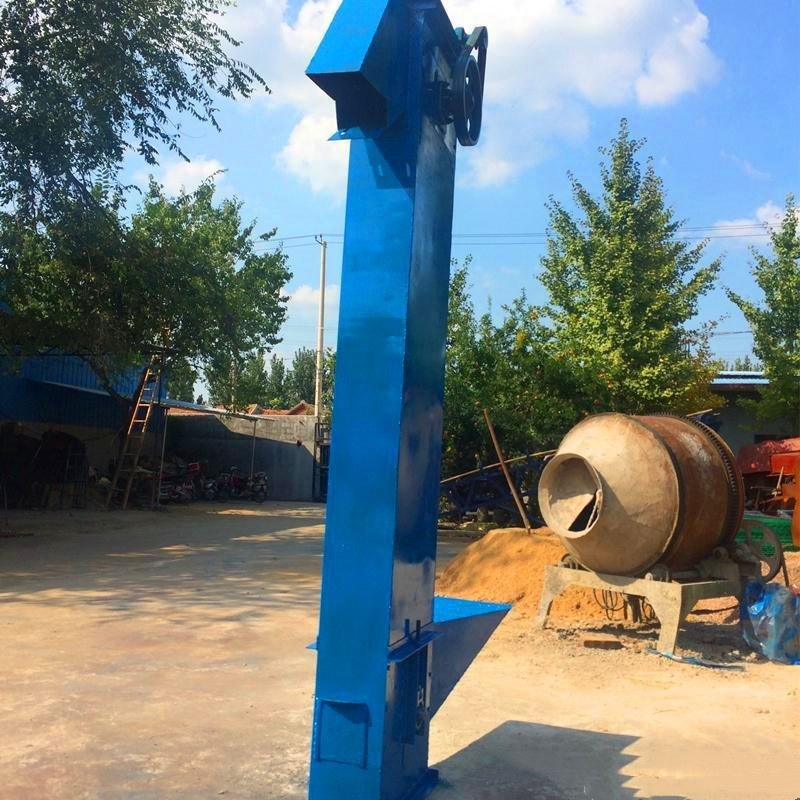 水稻循环上料用瓦斗提升机 促销变频调速节能斗提机