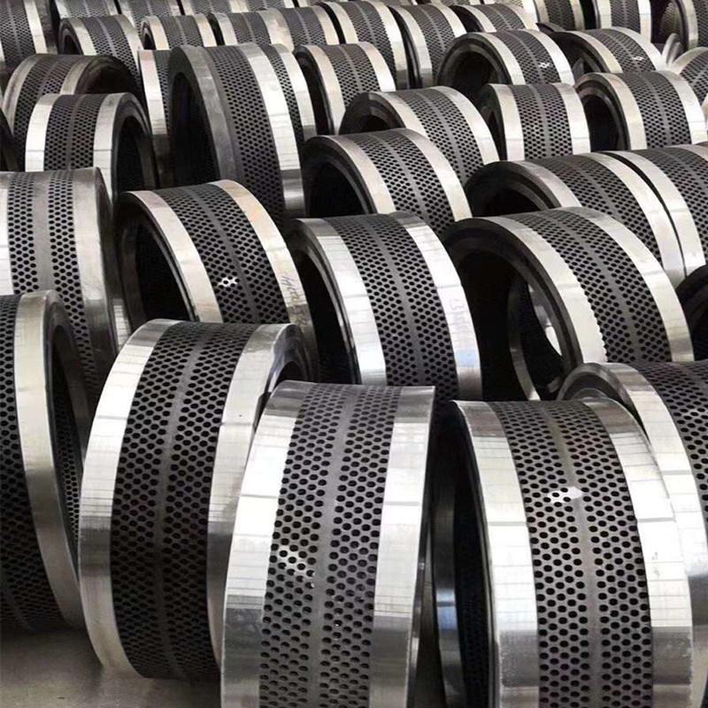 木屑颗粒机-生物质颗粒机厂家-环模配件