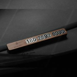 熊兴实木临时停车**号码牌创意挪车电话卡