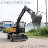 80轮挖 轮式挖掘机报价 厂家发货 抓木机 捷克