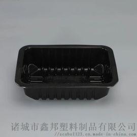 水果打包盒 一次性透明无盖熟食烤鸭盒 水果透明盒