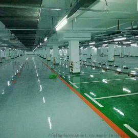 车间地面施工环氧地坪、车库划线包工包料免费设计