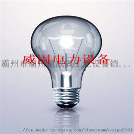 电工实训设备球形小木瓜灯磨砂三段灯泡
