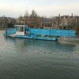 大型割草船厂家 湖面保洁船图片 垃圾打捞船工作现场
