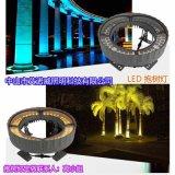 艾諾威可調角度公園抱樹燈,環形LED抱柱燈照樹燈