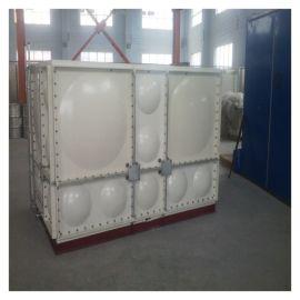 高位玻璃钢消防水箱 霈凯水箱 承压式水箱