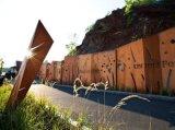 SPAH耐候钢做锈,景观装饰钢板,红锈处理板