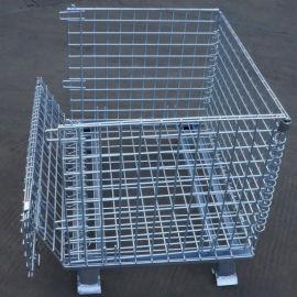倉儲籠 折疊式倉庫籠 鍍鋅金屬籠 金屬網箱