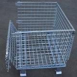 倉儲籠 折疊式倉庫籠 镀锌金属笼 金属网箱