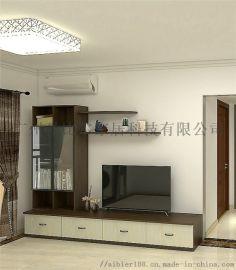广州整体电视柜设计客厅柜子