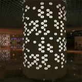 大會堂造型包柱鋁單板 展示廳拉彎鋁包柱效果圖